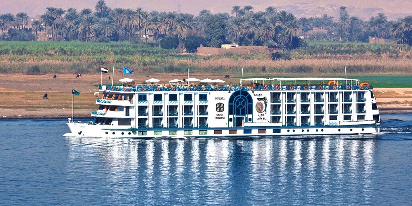 Cruzeiro Nilo Luxor-Assuã