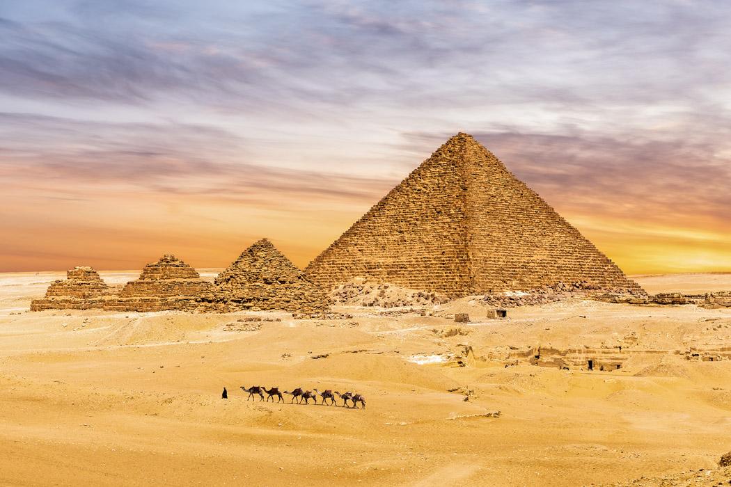 Pirâmides de Gizé: o que são?