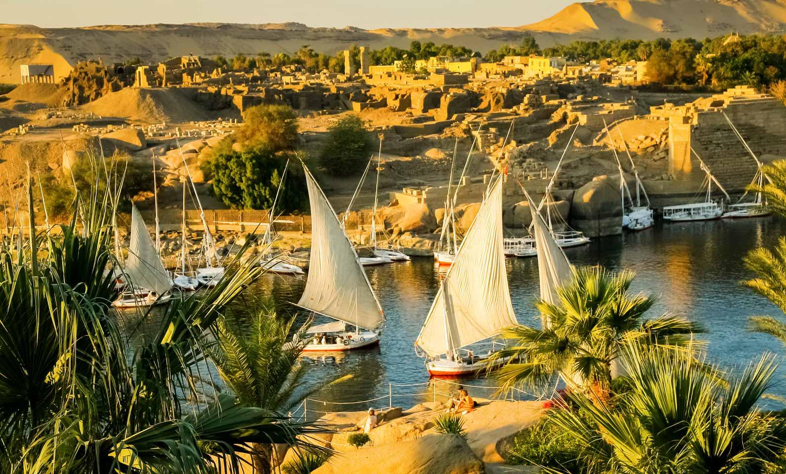 Qual a idade do rio Nilo?