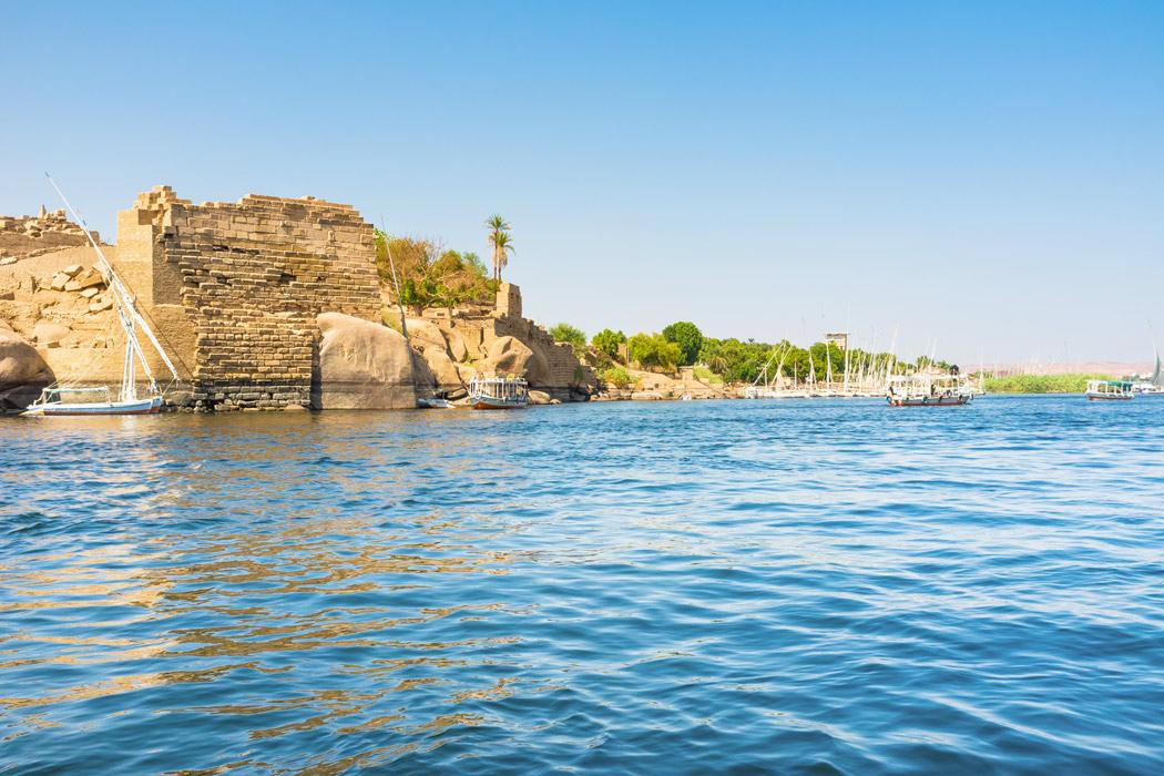 A construção da Barragem de Assuã então foi positiva para o rio Nilo?
