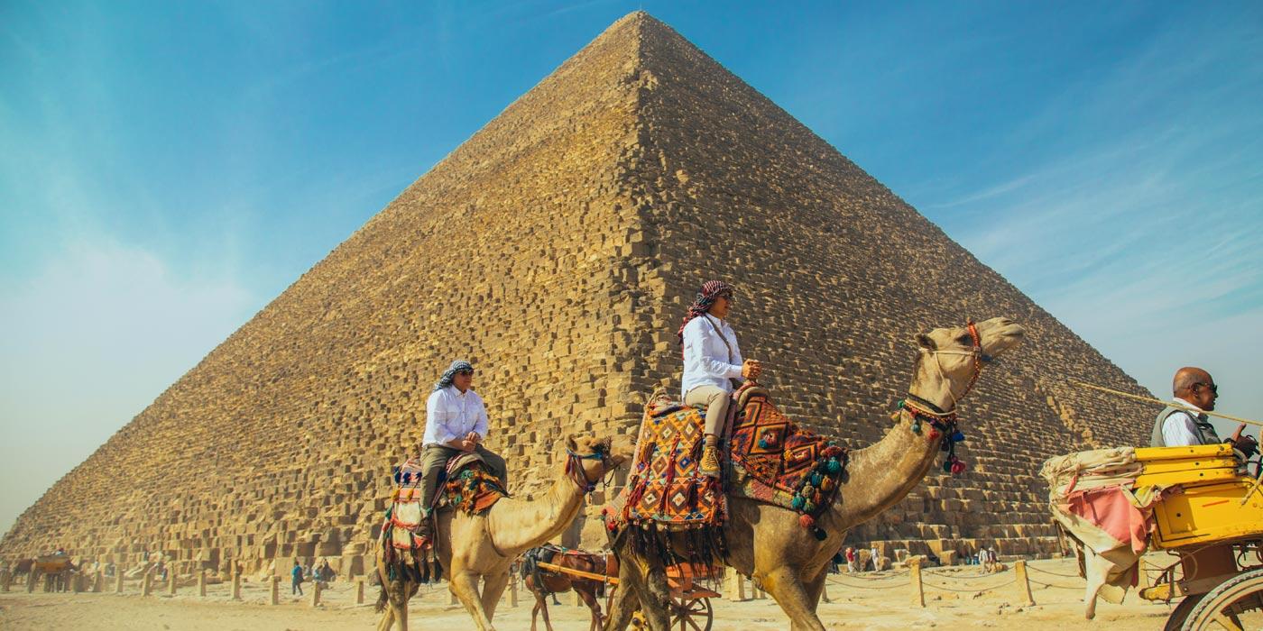 Como as Pirâmides de Gizé foram construídas?