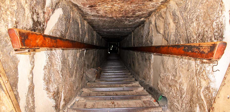 O que há no interior da Pirâmide de Quéops?