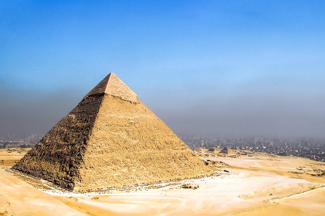 O que é a Pirâmide de Quéfren?