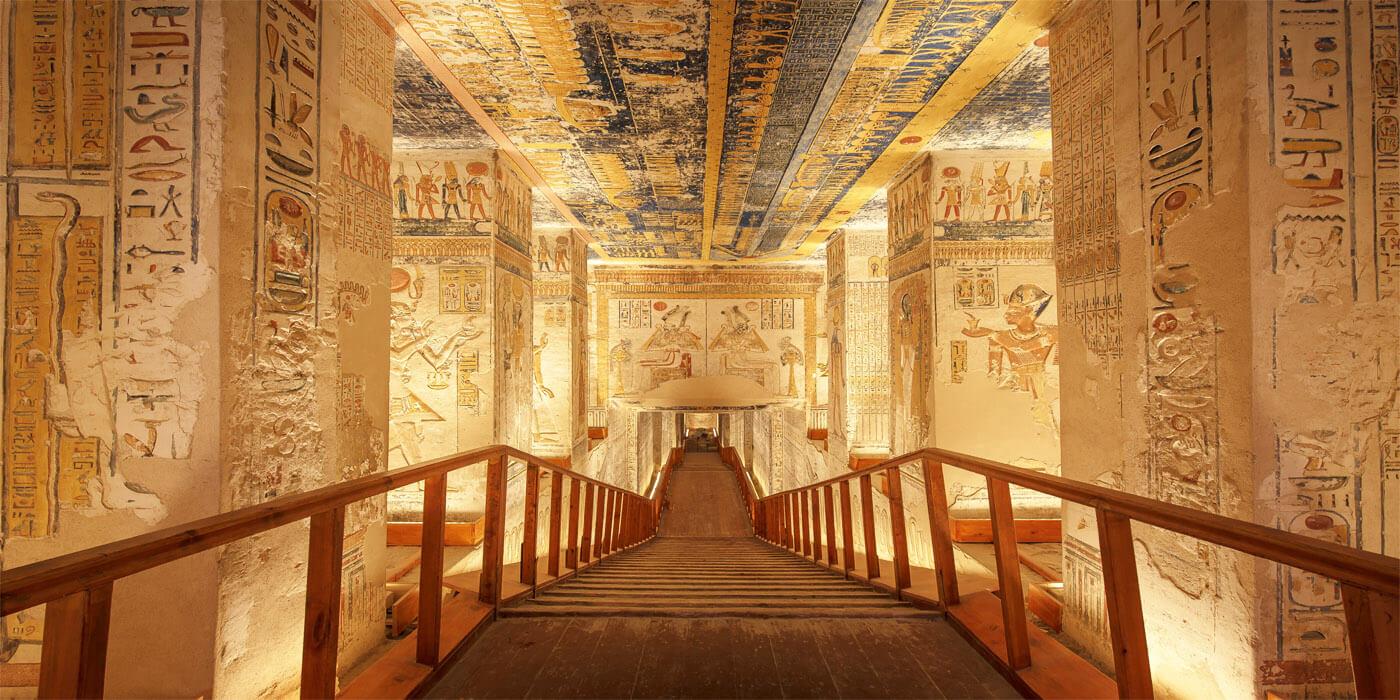 A Avenida de Esfinges em Luxor: o que é?