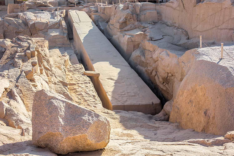 O que é o Obelisco Inacabado?