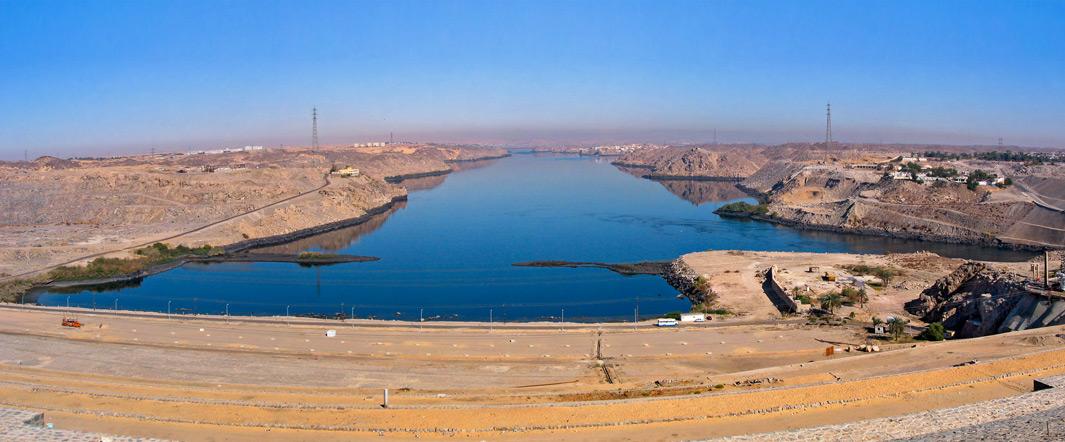 O que é a Barragem de Assuã?